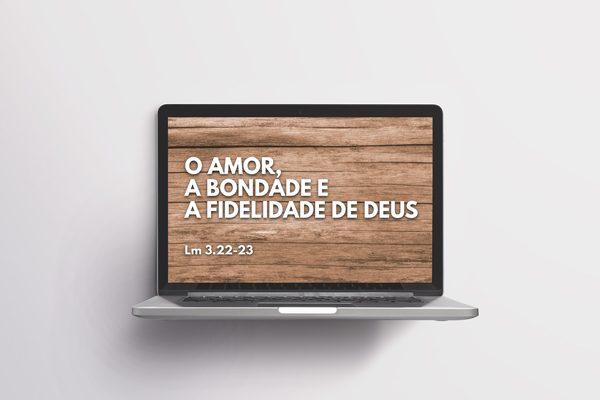 Slides para mensagens bíblicas – Modelo de apresentação gratuito para PowerPoint